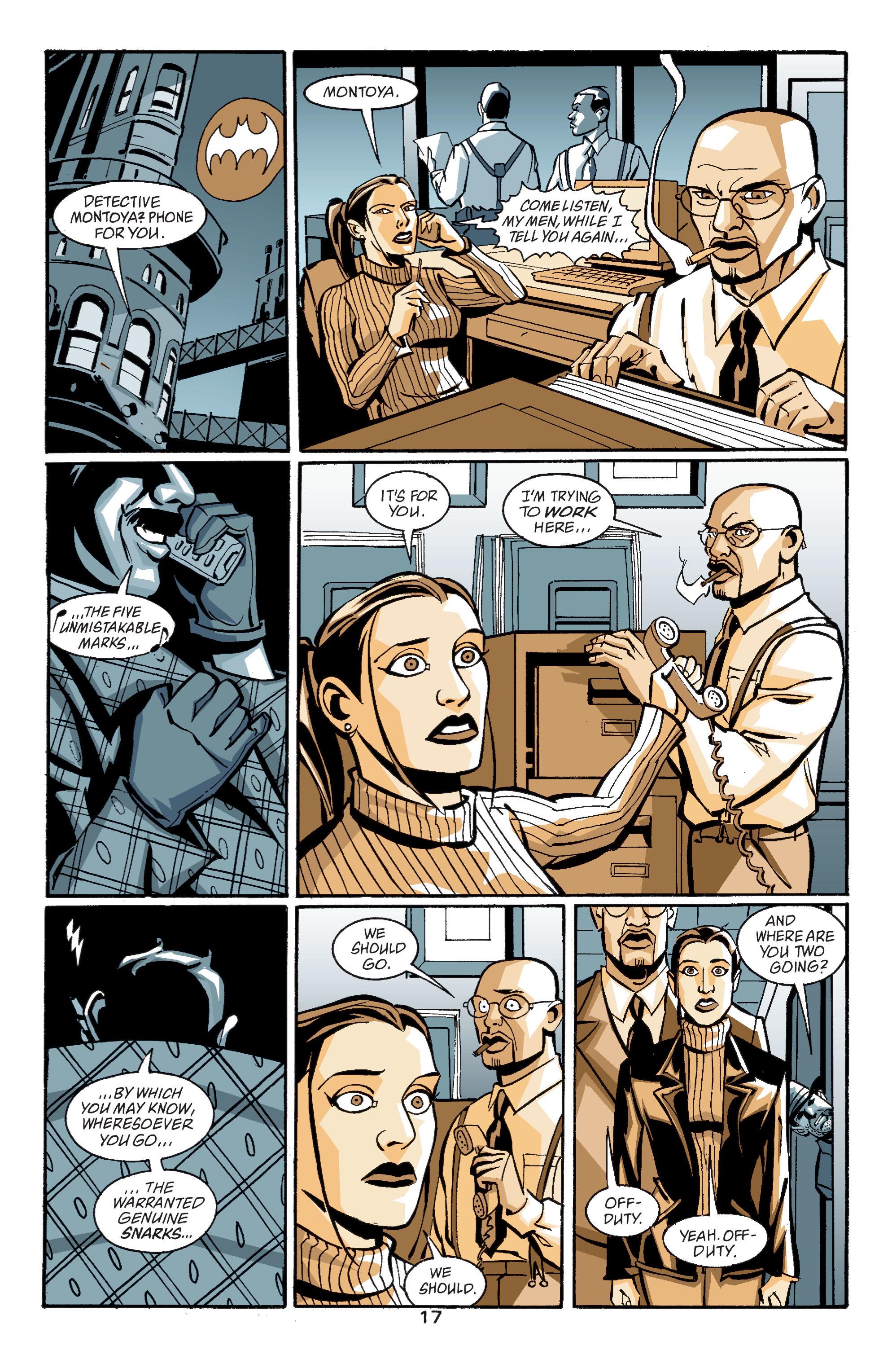 Detective Comics (1937) 758 Page 17