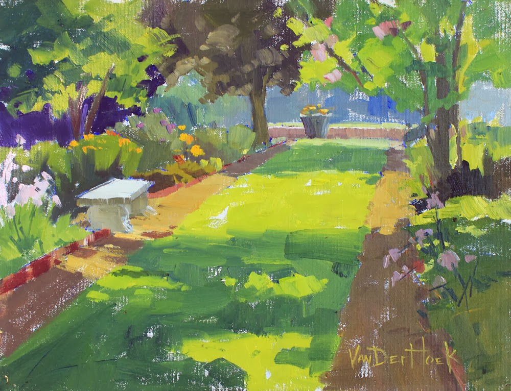 Hope S Garden Origininal Oil Painting Of In Maryland