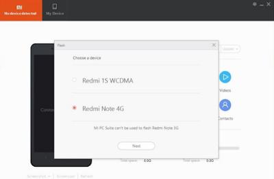 Tutorial Cara Flashing HP Xiaomi Mi 6c Menggunakan Mi PC Suite