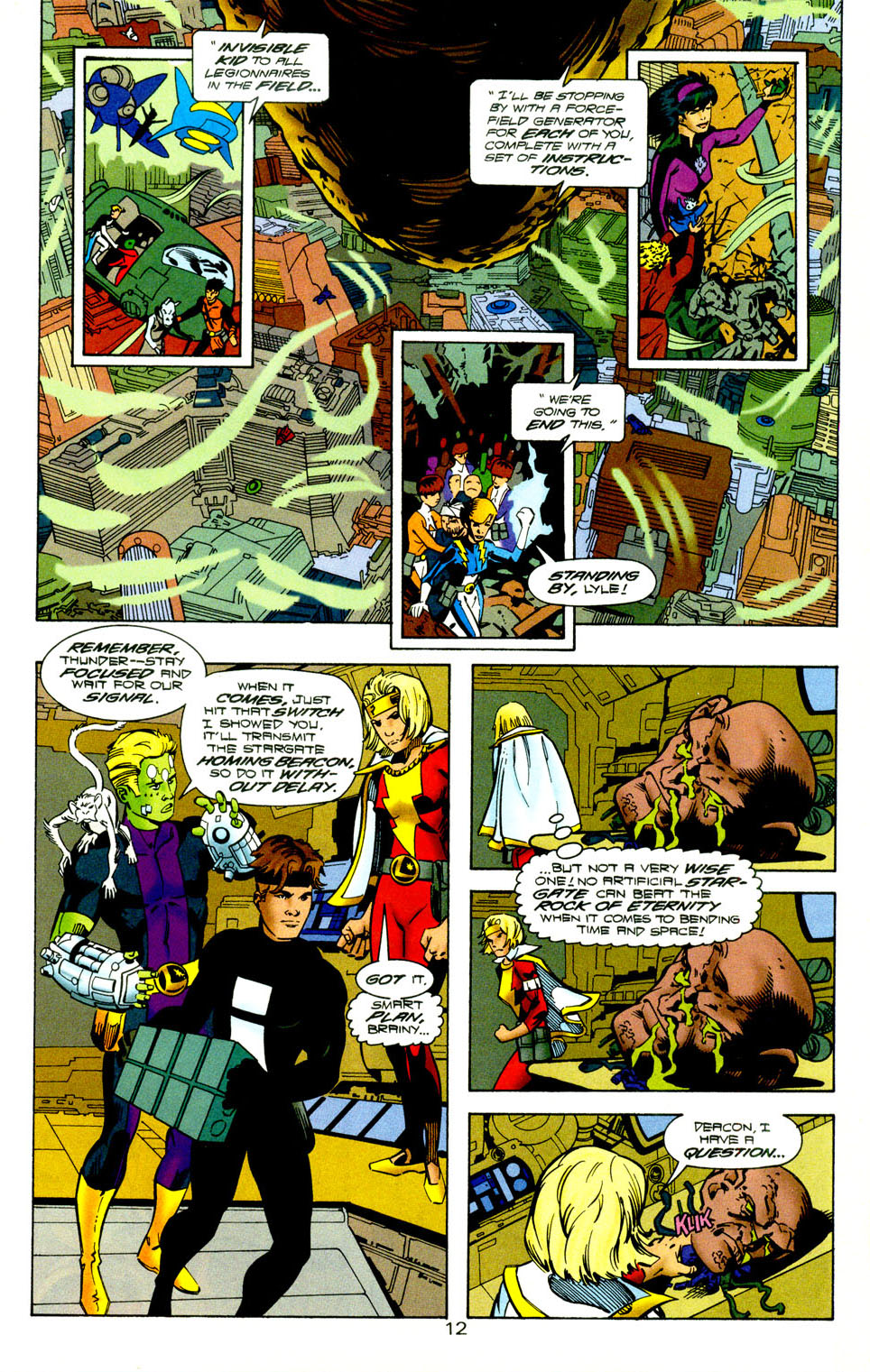 Legion of Super-Heroes (1989) 118 Page 13
