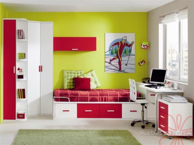 Qdk interiorismo dormitorios - Decoracion de paredes de dormitorios juveniles ...