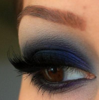 Resultado de imagen de imagenes de maquillaje ahumado para ojos