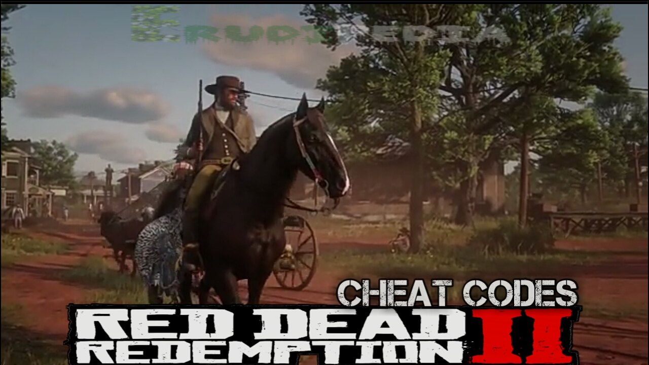 Red Dead Redemption 2 cheat codes how to unlock them