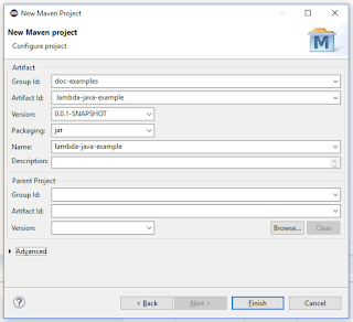 creating maven project in eclipse