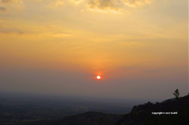 Beautiful Sunrise View Nandi Hills, Bangalore