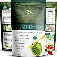Enzo ceremonial grade matcha green tea