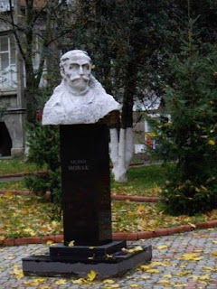 Dr. Novák Endre Ungvár Kárpátalja szobor