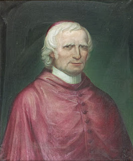 A portrait of Giuseppe Mezzofanti painted  in around 1838 in Bologna