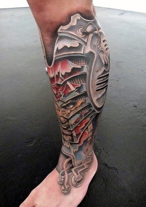 leg tattoos for guys