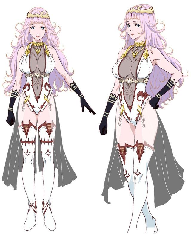 "Cast And Key Visual For ""Shingeki no Bahamut Virgin Soul"" Revealed"