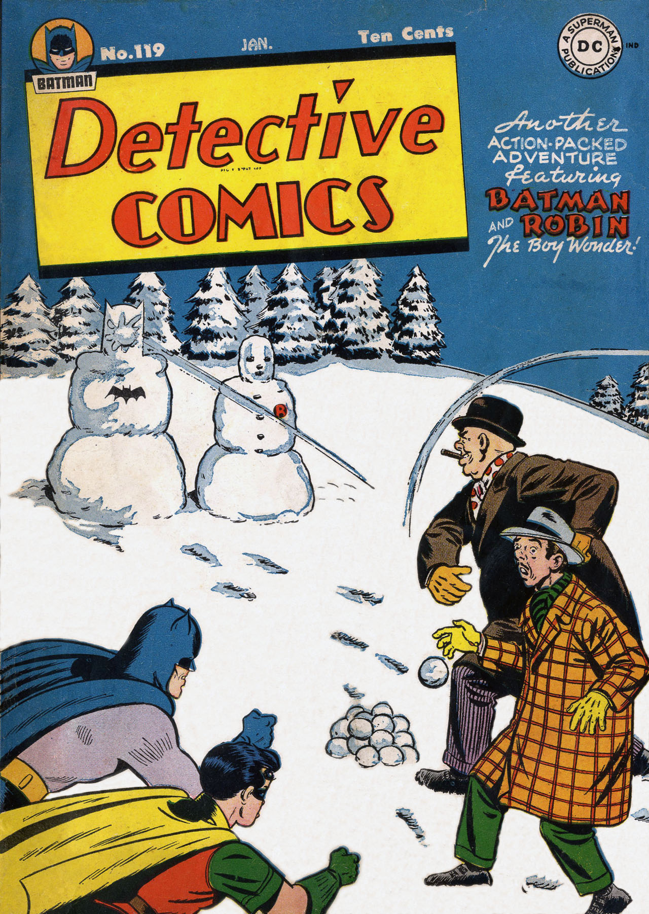 Detective Comics (1937) 119 Page 1