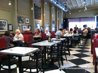 interior of Saul's Restaurant & Deli in Berkeley, California