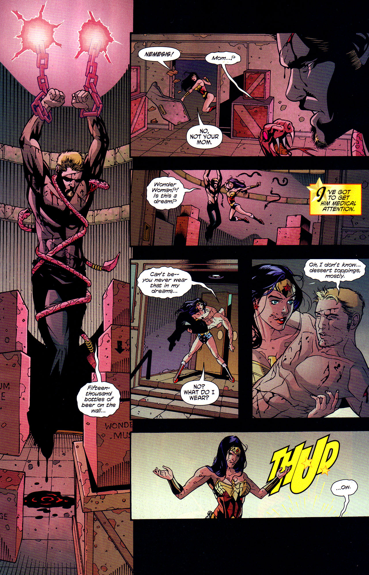 Read online Wonder Woman (2006) comic -  Issue #7 - 9