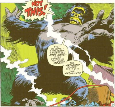 Captain America #135, Ape!
