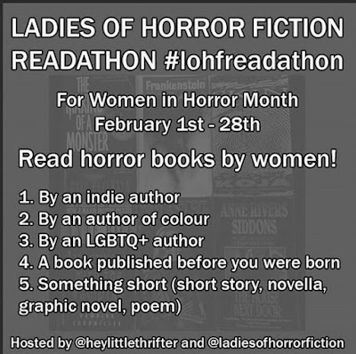 Ladies of Horror Fiction Readathon #LOHFReadathon