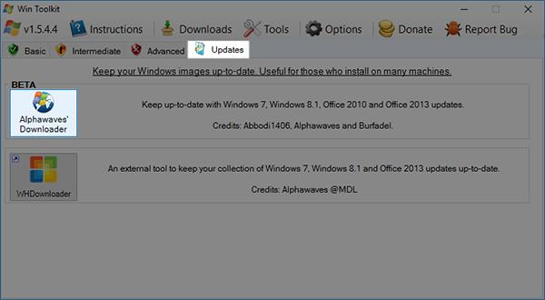 التحديثات نسخة الويندوز لتثبيتها تلقائياً النسخة بوابة 2016 666.PNG