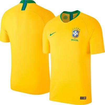 Jersey Brasil New 2018