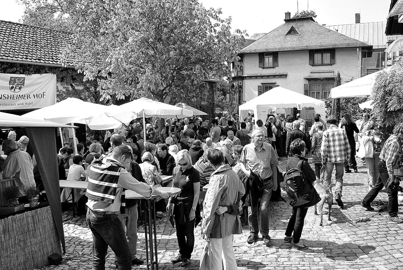 Das Oliandi-Olivenoelfest findet im und rund um das Weingut Wick in Zell im Zellertal statt
