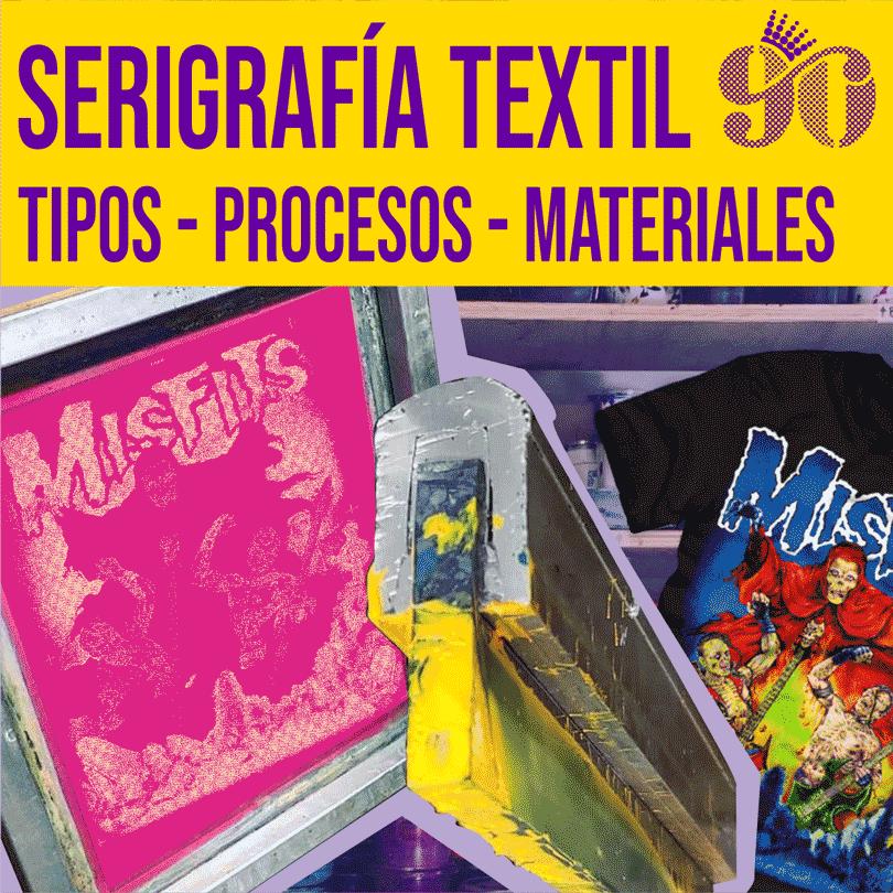 Que es serigrafia textil y sus procesos