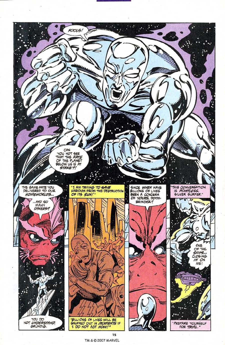 Silver Surfer (1987) Issue #103 #111 - English 17