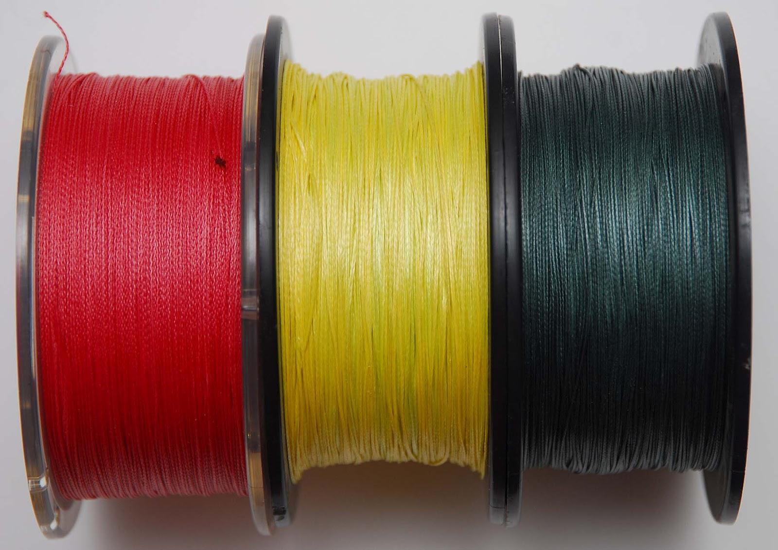 Леска для спиннинга плетеная