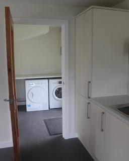 modern eco-utility room