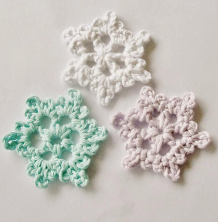 diy, crochet free pattern, snowflake