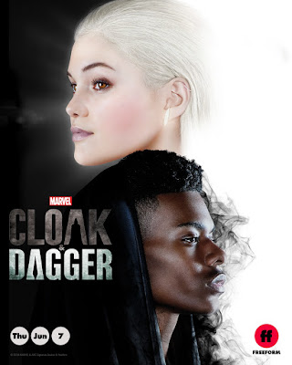 Marvel's Cloak and Dagger Series Poster 2