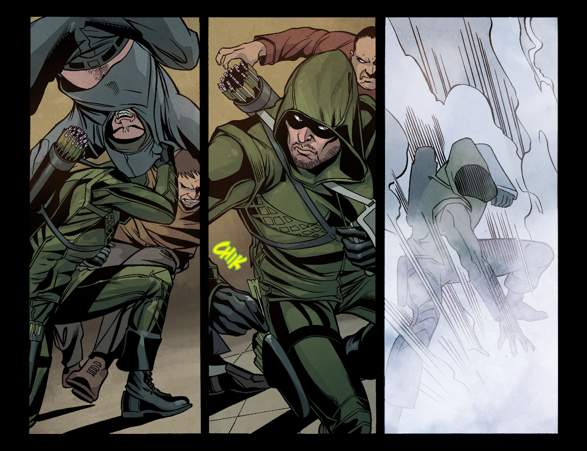 Read online Arrow: Season 2.5 [I] comic -  Issue #6 - 8