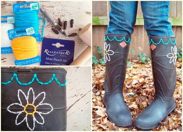 botas, zapatos, costura, labores, manualidades, customizar
