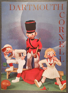 Cover to Novermber 16, 1940, Dartmouth-Cornell football program