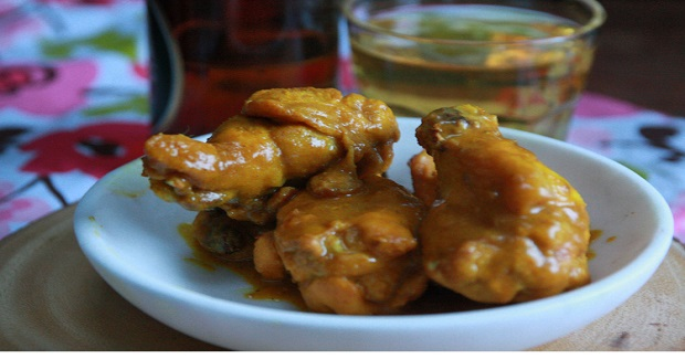 Curry Wings Recipe