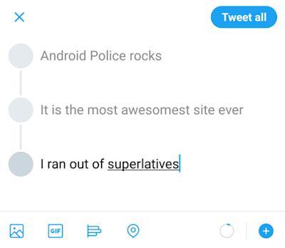 Tweetstorm, Fitur Percobaan Twitter Ini Bisa Tweet Berurutan Dengan Tampilan Keren