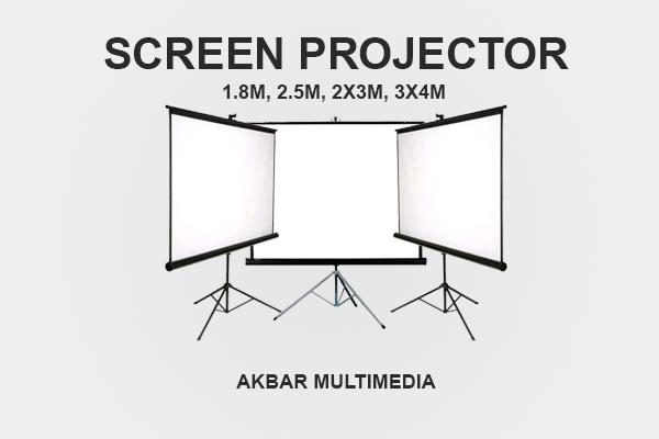 Sewa screen proyektor Jogja