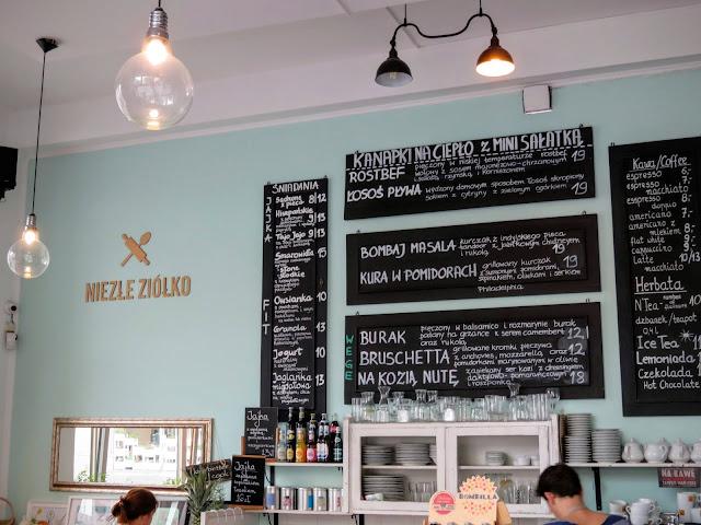 Warsaw's Niezłe Ziółko Cafe