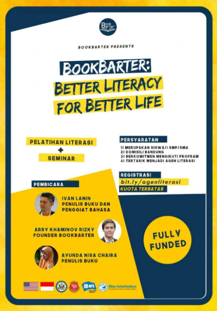 Better Literacy for Better Life (BLFBL) 2019 [Fully Funded]