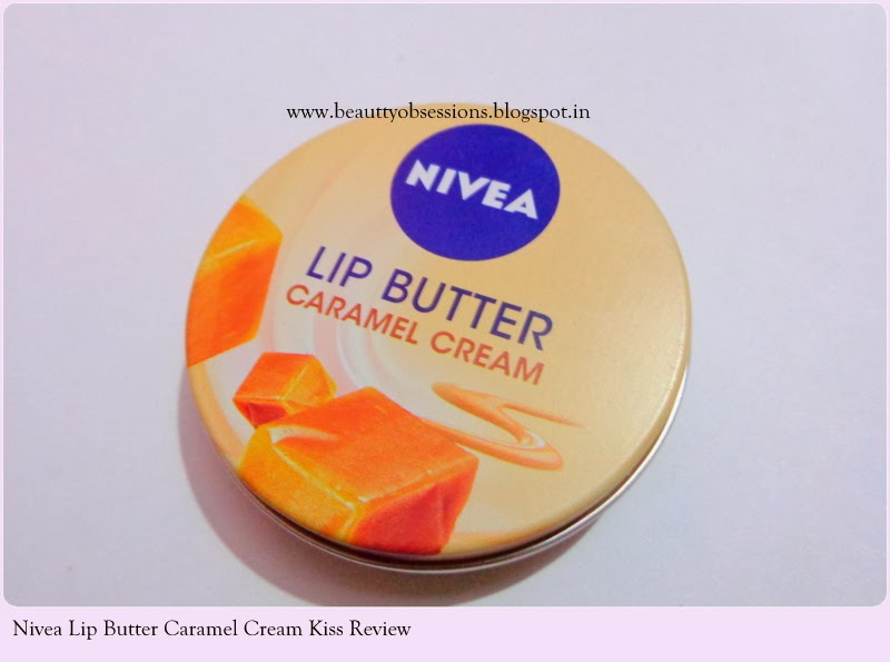 "Nivea Lip Butter in ""Caramel Cream Kiss"" Review"