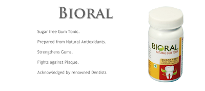 benefits of natural tooth & gum care powder - bioral