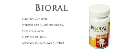 benefits of natural tooth & gum care powder - bioral