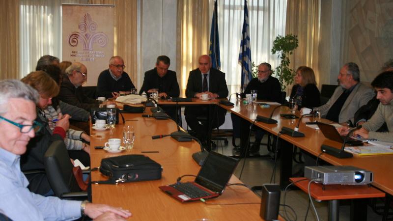 """Εκπρόσωποι του Σωματείου """"Διάζωμα"""" στον Περιφερειάρχη ΑΜ-Θ για τη Via Egnatia"""