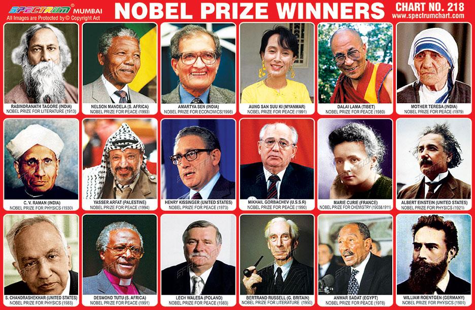 Asian nobel prize winners