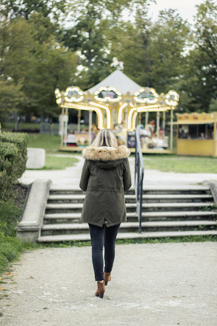 agathe diary look automne blog mode bordeaux parka