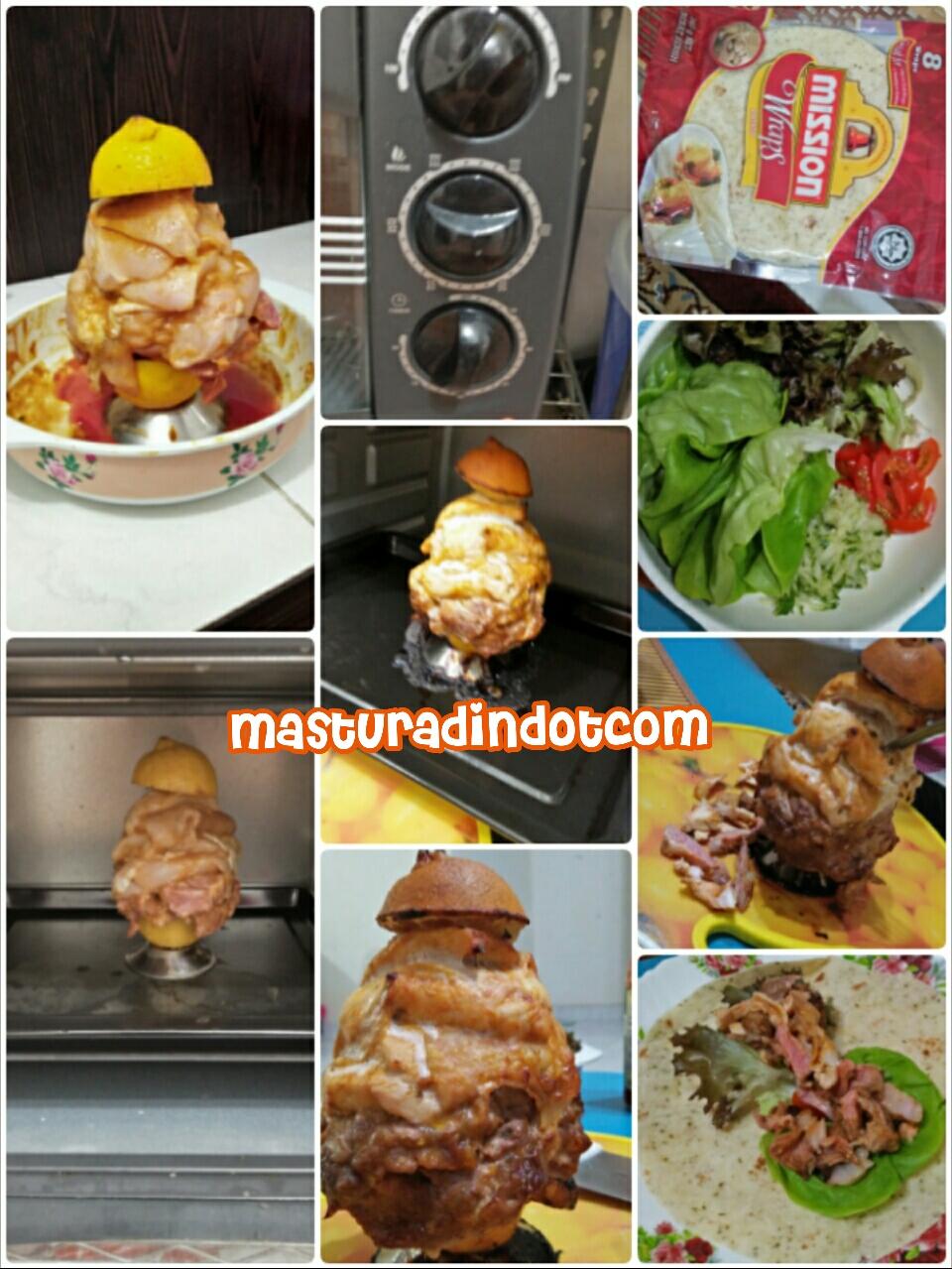 homemade kebab, resipi kebab, cara-cara membuat kebab