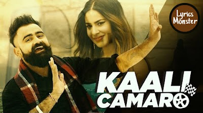 KAALI CAMARO SONG LYRICS VIDEO  AMRIT MAAN