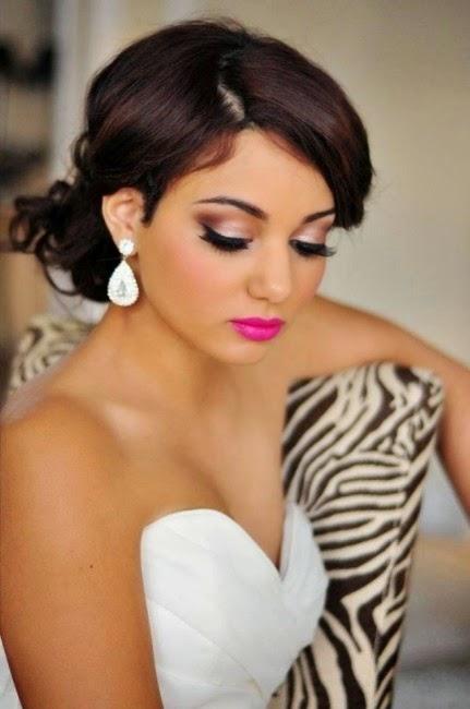 Peinado novia a domicilio