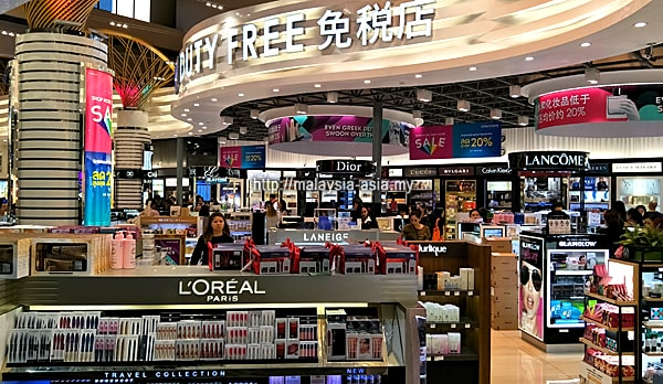 Duty Free Shops Don Mueang Airport
