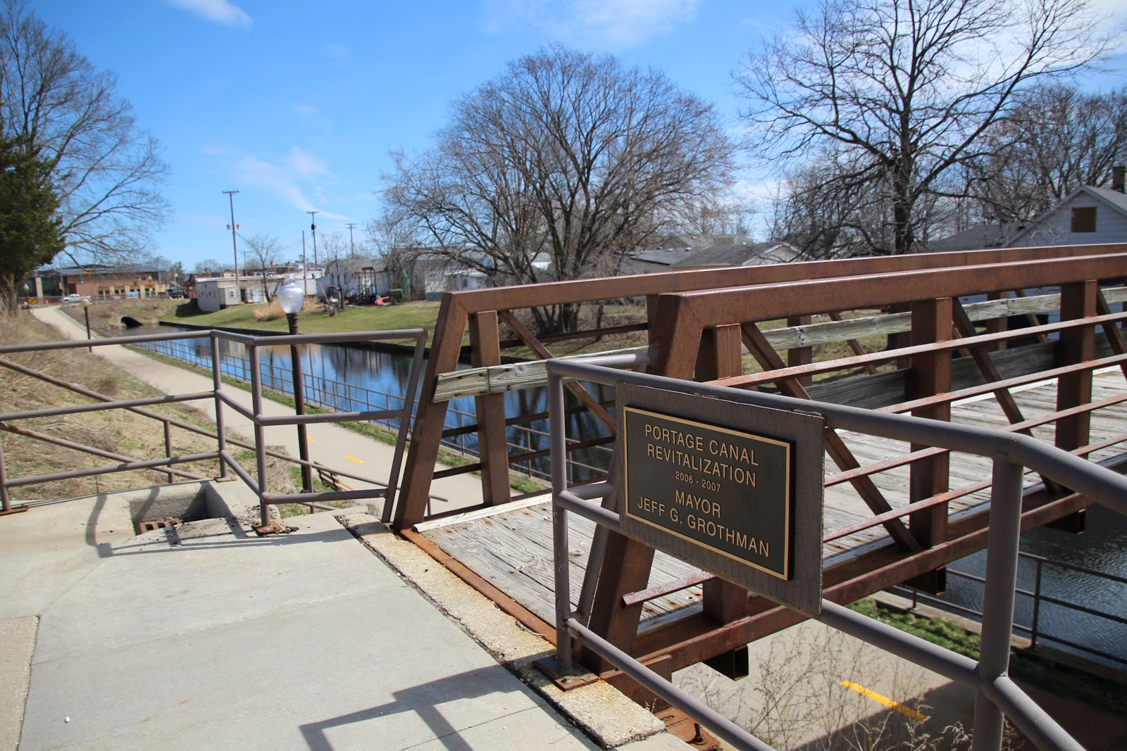 Wisconsin Historical Markers: Welcome To The Portage Canal