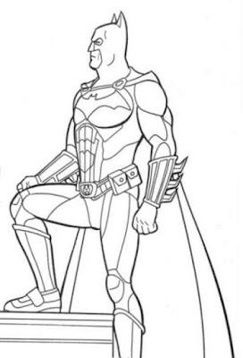 Desene Cu Batman De Colorat Poze Cu Batman De Colorat