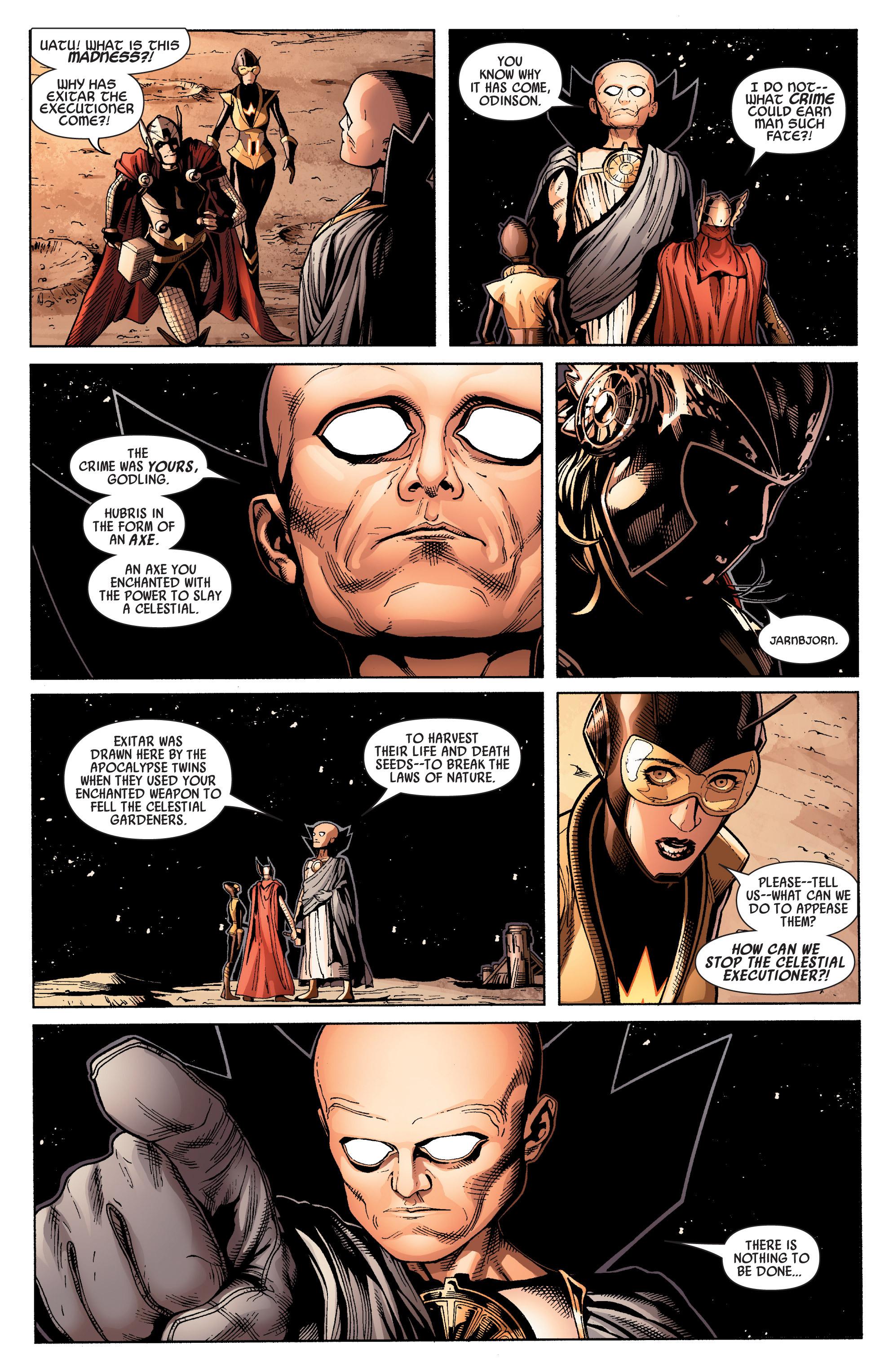 Read online Uncanny Avengers (2012) comic -  Issue #15 - 21