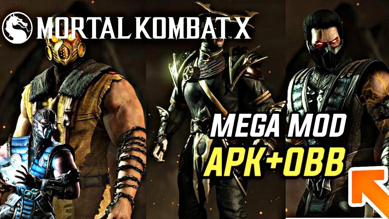 Mortal kombat x apk obb mod | MORTAL KOMBAT X MOD god 'mode